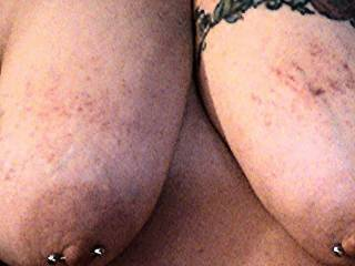 A couple days after getting my titts spanked