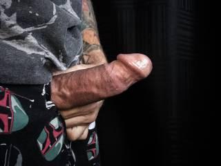 My hard veiny cock