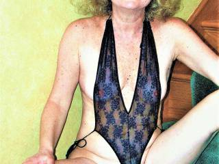 They asked me to model this new, expensive black lingerie! what do you think? it is see through! people can see my nipples! I can\'t wear this to the party.