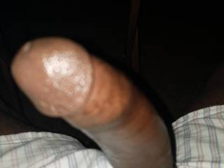 Young hard thick healthy black cock and full of cum