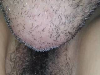 I eat my wifes pussy and ass, up close look for you.