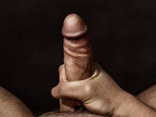 my girlfriend loves my cock and took some pics of it for herself to enjoy when I\'m not around.