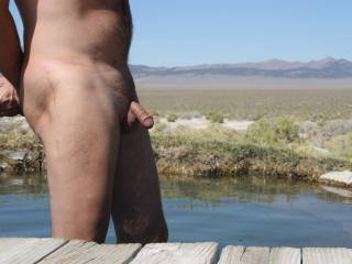 Hangin' out in the Nevada desert...