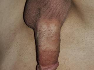 Anyone want to play with my balls while you suck on my cock for me  ?