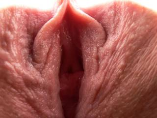 Now that is a view I would like to get first hand.  Would love to suck on that sexy clit!!  Thanks for sharing!