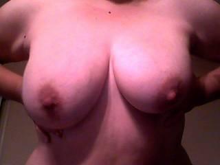 my wife's tits. yummy!