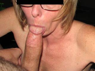 I would. Definitely. would also enjoy watching my wife take your big cock like that too