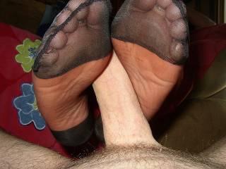 very lucky man vey sexy soles mmmm