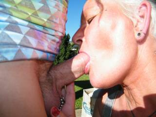 sucking a yummy cock