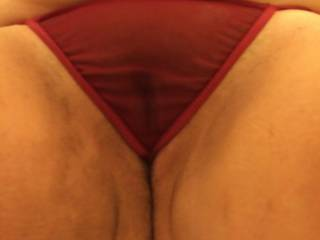 like to feel my tongue slipping under the edge of that thong