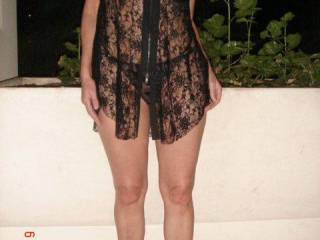 You wanked hot, white cum all over her pretty black dress?....nice thort eh? xxx