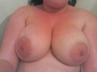 Wow, I'd love to take ages teasing and sucking your lovely nipples...