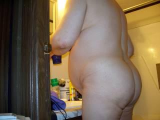 That big swollen belly is looking well !