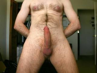 Mmmm...very nice big suckable cock