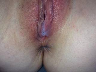 Mmmmm! I want to suck every drop of got cum out of your beautiful pussy!