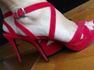 My fav red heels