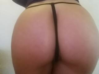 My wife's beautiful big butt