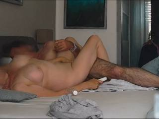 Here she Cums with my Dick in her Ass, My Finger in her Vagina and her Magic Wand on her Clit..... PIC 6 This is from a Video of one of our many Anal sessions. I love to see her Face wenn she is cumming Uploaded: 5 minutes ago