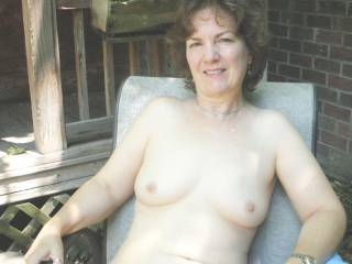 """Love the outdoors, and love being """"totally\' nude in or near public gatherings. I get so """"wet"""" when I see men get arosed..."""