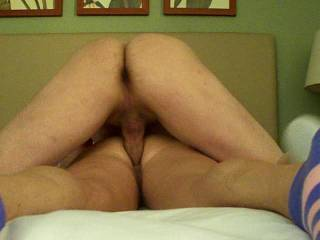 we met at a TX hotel and she fucked my brains out including taking a huge load of my nectar up her sweet ass. and kept it in side of her for hour or two til it ran down her leg at a store getting cigareetes. Right On!!!