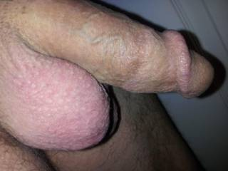 I love the goosebumps on your balls! Would love to suck those big balls and your incredible head. Your balls really are beautiful. ;D