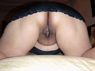 Wanna fuck my tight wet mature pussy from behind?