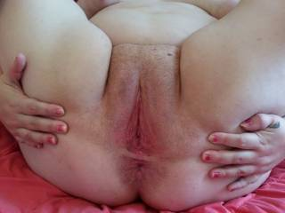 you wanna slobber all over this meaty pussy?