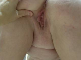 no, and could not help myself from sucking on her lovely pussy and sliding my cock balls deep into that amazing pussy