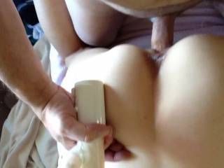 Wow she is a fuucking beauty I would love to replace that toy with my cock I am NOT local but for a tight little pussy like that and you have me join in I would cum for her tight little pussy let me know what you think I'm only an hour and a half away I think she would be worth the drive