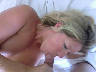 My GOD she gives a great Blow Job. :)