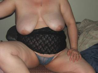 I could play and suck on your wifes tits for hours