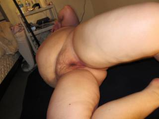 very hairy pussy mound