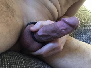 Jerking my hard and veiny cock. I appreciate some help :P who wants to join?