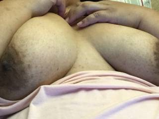 I texted this to him on Sunday and am now wondering if he misses cumming on me.  Would you miss cumming on my chest?