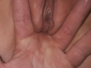 Finger fucking me while getting licked