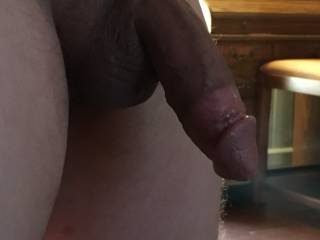 my cock after I cum a huge load down her throat