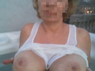 I love showing off my big boobs
