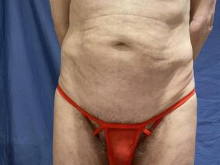 Everything is covered but these undies do reveal the sate of my foreskin I think.