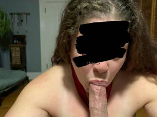 Called a friend over cause I needed my cock sucked...