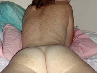 My man appreciates that my ass isn\'t skinny, it can take all the fuck he throws at it :)