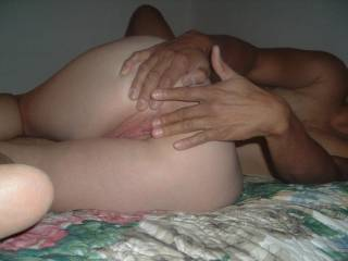 damn she has a hot ass :) would love to lick that beautiful ass and pussy