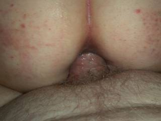 getting my cock to fit in her tight little asshole while she screams in pleasure