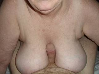 How do you like big soft tits? Wrapped around you dick? My sexy friend has an amazing set.
