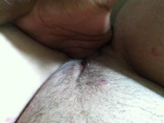 You fingering that pussy feels so good!