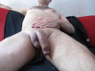 my big cock freshly shaved