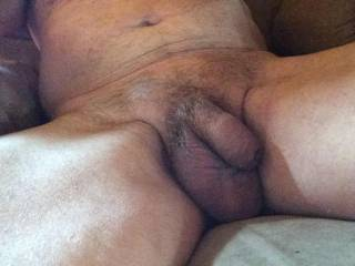 I think my little cock and balls need a shave?