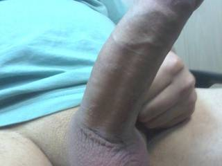 My shaved erected dick