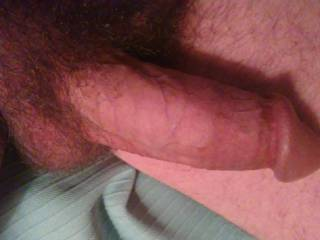 Just laying around and my cock said, hey take a picture. So I did. Now I must jerk it off.