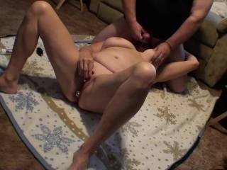 Our latest easy Sunday afternoon video with both of us cumming  at about the same time. Also with slow motion, music, and a leg kicking orgasm. I just love her ball sucking skills, and my view of her in this position is awesome. So, did you enjoy??
