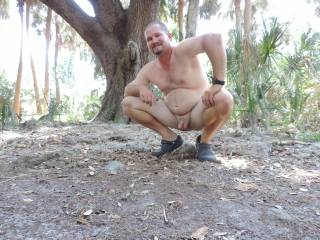 full pic me all the way naked in the woods